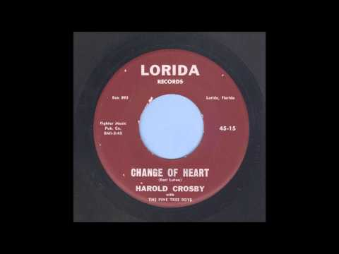 Harold Crosby - Change Of Heart - Country Bop 45