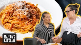 Download lagu EXTRA beefy, cheesy (but not so traditional) Spaghetti Bolognese...hello MAJOR pregnancy CRAVINGS!