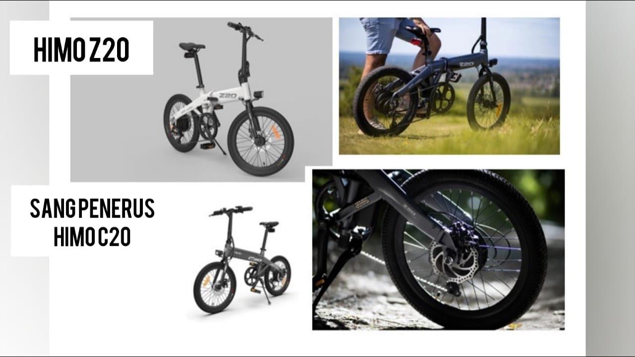 Perbedaan Sepeda Listrik Xiaomi HIMO Z20 dengan HIMO C20 ...
