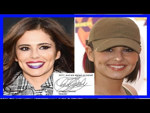 Cheryl has officially reverted to her maiden name tweedy – as figures reveal her company's profits