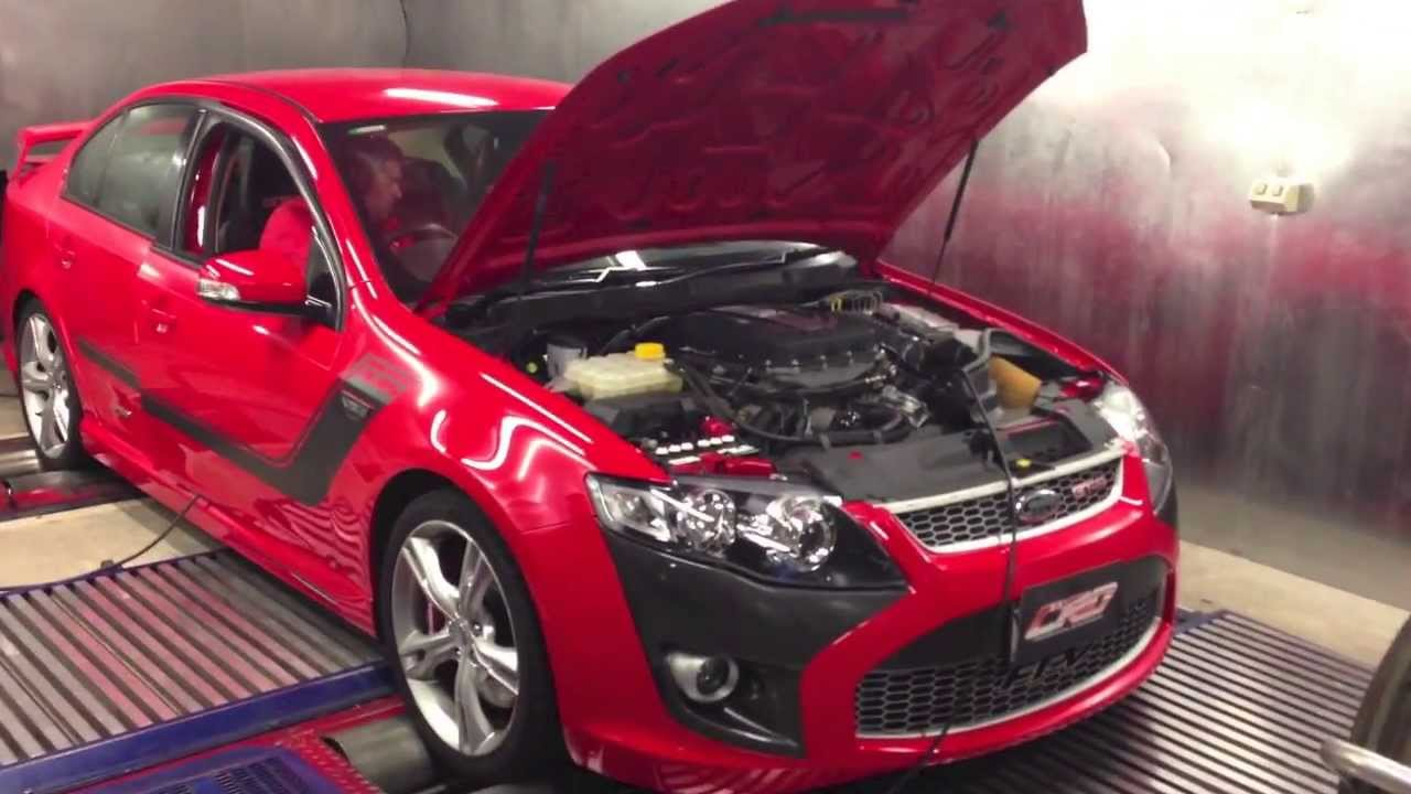 CRD custom dyno tuned +380kW FPV GT-P 335 BOSS V8 - YouTube