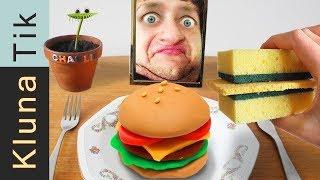 Eating a SANDWICH & BURGER    KLUNATIK COMPILATION    ASMR eating sounds no talk