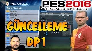 PES 2016 Güncellemesi Çıktı (DP1)