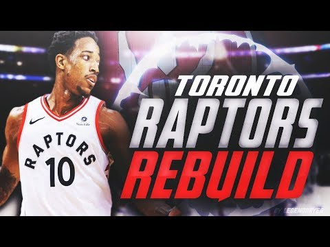 TRADING KYLE LOWRY FOR SUPERSTAR?! REBUILDING THE TORONTO RAPTORS! NBA 2K18