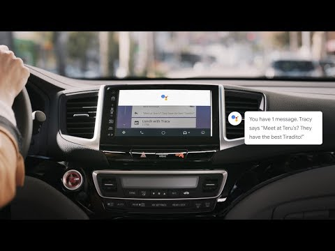 Your Google Assistant on Android Auto: Stay connected