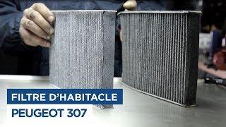 Changer le Filtre Habitacle - Peugeot 307