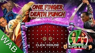 One Finger Death Punch Review - Worth a Buy? (Video Game Video Review)