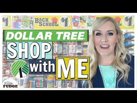Back To School At The Dollar Tree 2018 + Shop With ME