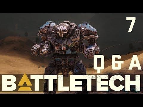 BattleTech Dev Q&A August 9, 2017 w/ Jordan Weisman