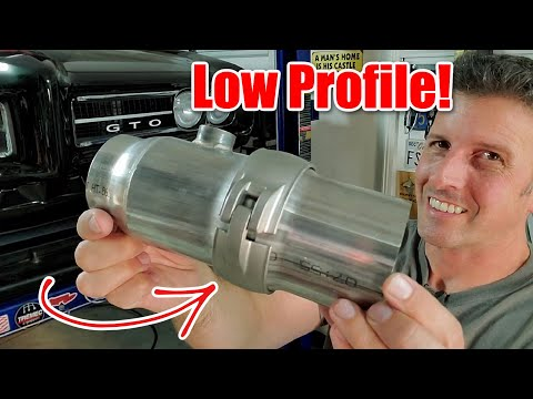How to install Ultimate Headers Low Profile Band Clamps, Pontiac Re-Build part 12