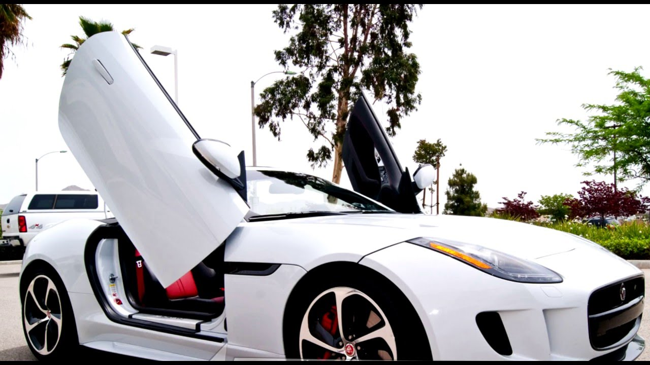 Jaguar F Type Convertible Lambo Doors By Vertical Doors