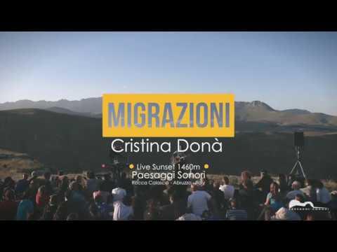 Cristina Donà - Migrazioni | Paesaggi Sonori | Live Sunset 1460m