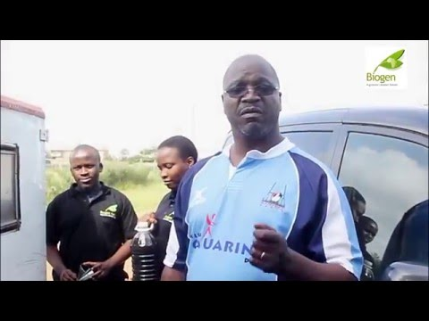Biogen Kenya Team with Company Overview