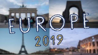 TRAVEL EUROPE 2019 // Liam King