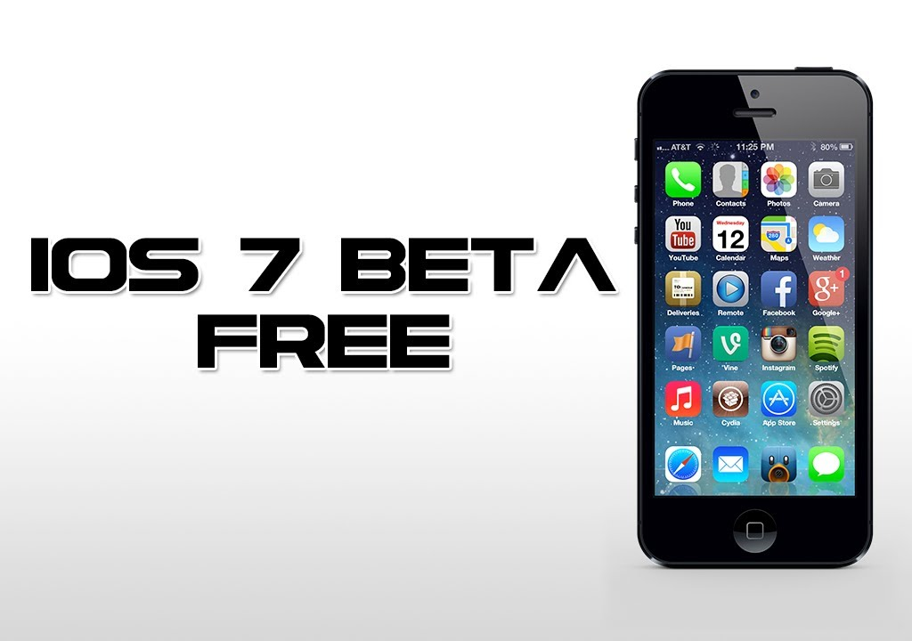 ios 7 beta iphone 4 youtube