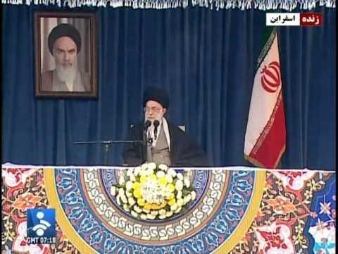 IRAN: Today Ayatollah Khamenei ایران آیات الله خامنه ای