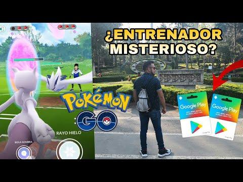 ¡RETO ENTRENADOR MISTERIOSO EL PERDEDOR REGALA TARJETAS GOOGLE PLAY! PVP POKEMON GO! thumbnail