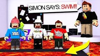 PRESTONROBLOX KILLS EVERYONE! Roblox Simon Says MM2