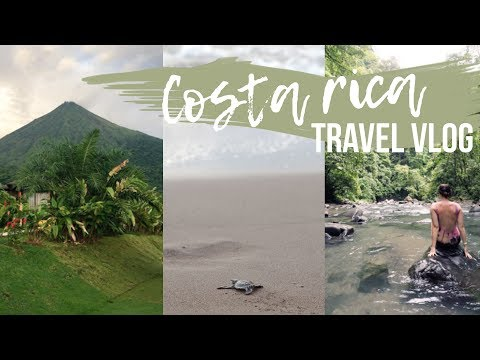 COSTA RICA TRAVEL VLOG | Frock Me I'm Famous