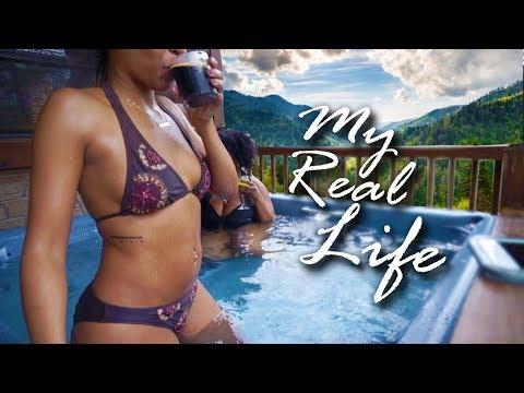 MY REAL LIFE | EP 37 - YAY, IT'S MY BIRTHDAY VLOG! SMOKY MOUNTAINS, MOONSHINE, SNOW TUBING!