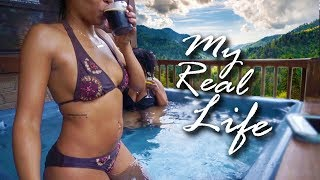 MY REAL LIFE | EP 37 - YAY, IT'S MY BIRTHDAY VLOG! SMOKY MOUNTAINS, MOONSHINE, SNOW TUBING!
