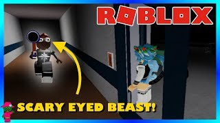 SCARY EYED BEAST!! (Roblox-Flee the Facility)