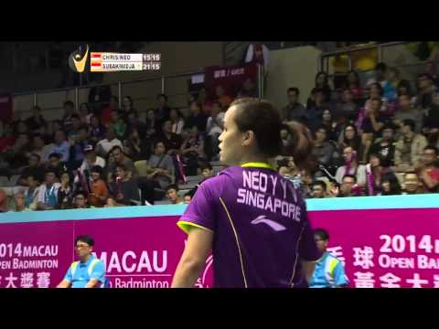 F - 2014 Macau Open - Edi Subaktiar/Gloria Emanuelle Widjaja vs Danny Bawa Chrisnanta/Vanessa Neo