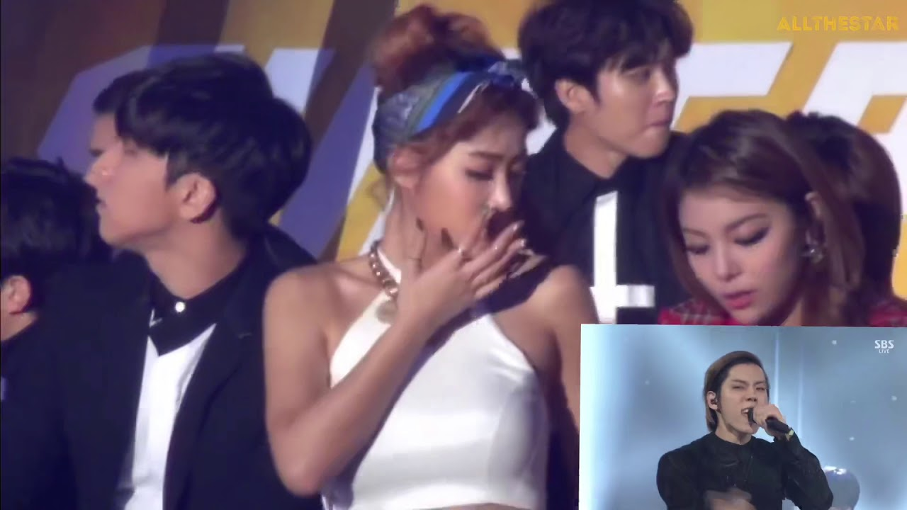 INFINITE reaction to their song BACK (its pre recorded performance. they are not performing live.)