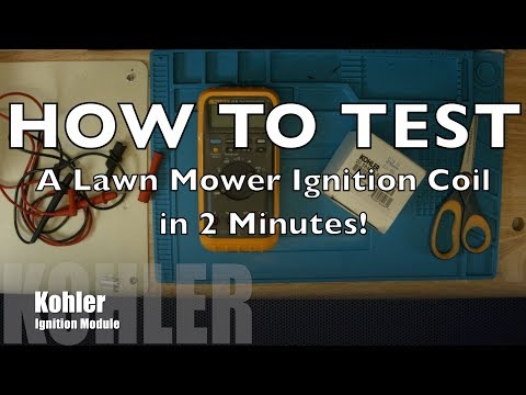 How To Check A Simple Lawn Mower Ignition Coil