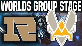 RNG vs VIT - Worlds 2018 Group Stage Day 3 - Royal Never Give Up vs Vitality Worlds 2018 Group Stage