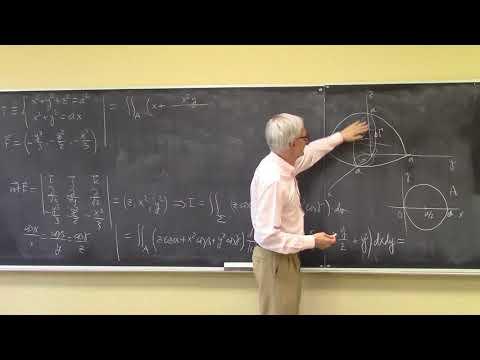 Cálculo de una integral curvilínea mediante el teorema de Stokes