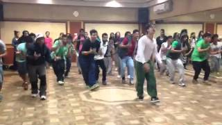 Dance Rehearsal of Whistle Baja song - Heropanti