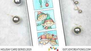 Gambar cover Got Joy Creations Holiday Card Series 2019 - Guest Designer Courtney Kreeber