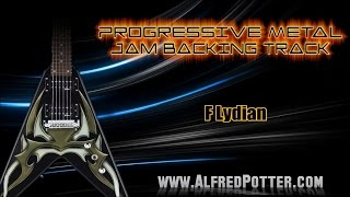 Progressive Metal Jam Backing Track 2