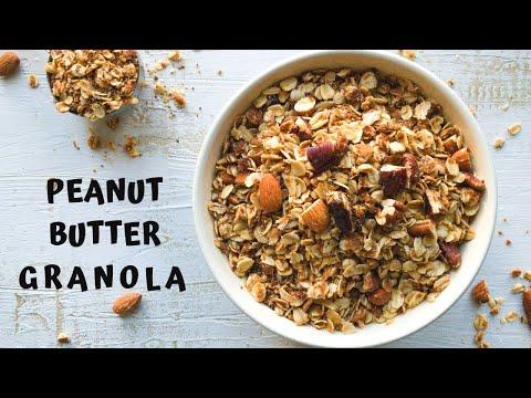 Healthy Peanut Butter Granola Recipe Easy and Quick Breakfast Granola Recipe