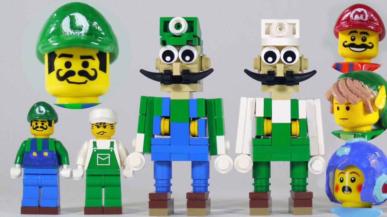 3ed8bbb73fe How To Build LEGO Luigi (+ new Mario