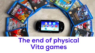 PSVita News - End of physical games in the West