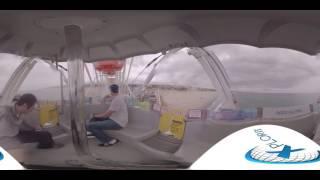 Ride the Santa Monica Pier Ferris Wheel in 360 Degree video