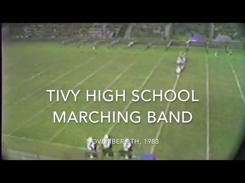 Tivy High School Marching Band - 1983