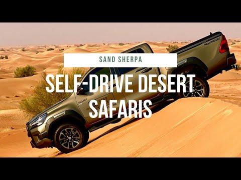 Sunrise and sunset desert safari drives in the Dubai Desert Conservation Reserve with Sand Sherpa