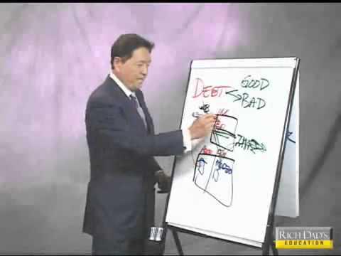 Robert Kiyosaki New Rules of Money Part 5 of 7 Good Debt Vs Bad Debt