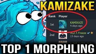 KAMIKAZE Number 1 MORPHLING Player Dota 2