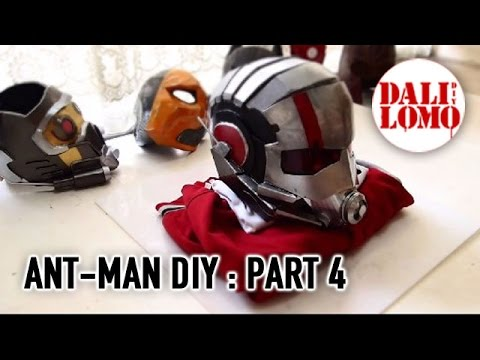 #102: Ant-man Helmet Part 4 - End (free template 3) | Costume Prop | How To | Dali DIY