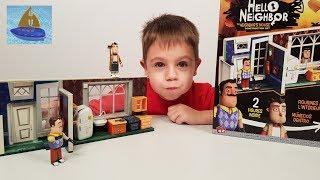 Открываем Оригинальный Лего Конструктор Привет Сосед за 100$ - Домик Злого Соседа на 267 деталей