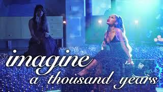 Baixar imagine a thousand years | mashup of ariana grande/christina perri