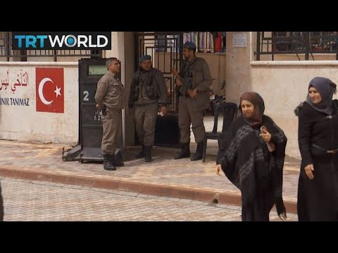 The War in Syria: Heightened security in Azaz after Daesh threat
