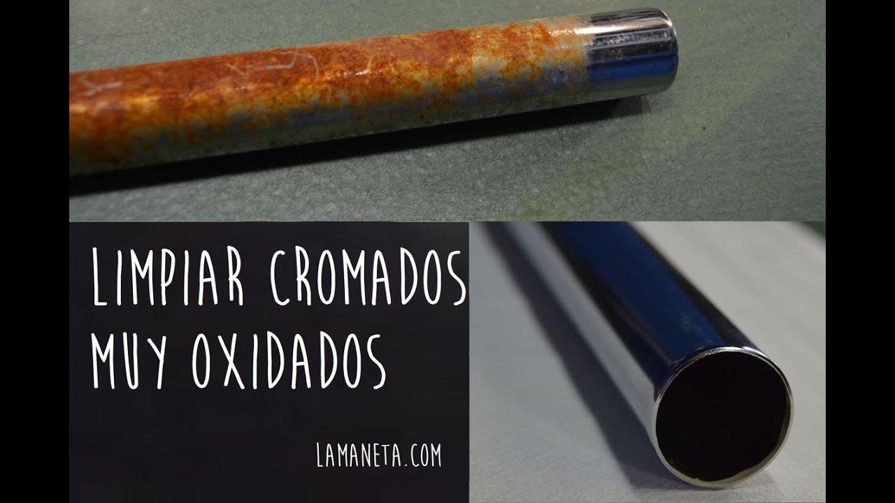 Limpiar cromados oxidados hacer