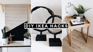 DIY IKEA HACKS - Minimal Home Decor + Furniture Hacks for 2020