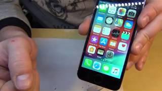 Замена дисплея и touch id iphone 5s