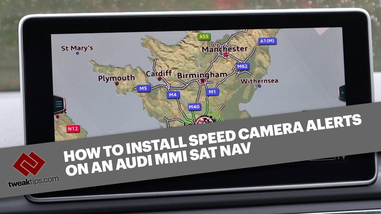 HOW TO INSTALL SPEED CAMERA ALERTS ON THE AUDI SAT NAV MMI SYSTEM - Full  start to finish guide